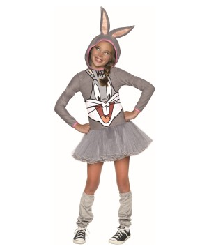 Looney Tunes Bugs Bunny Girls Costume