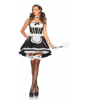 Maid To Be Sexy French Maid Womens Costume