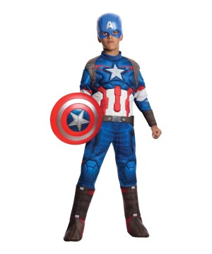 Avengers Age of Ultron Captain America Boys Costume deluxe