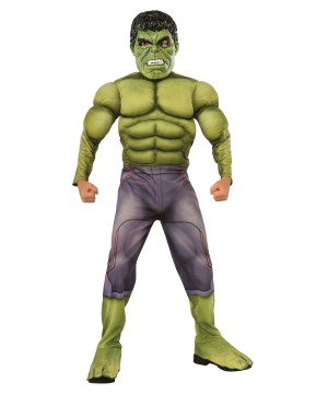 Incredible Hulk Avengers Age of Ultron Boys Costume