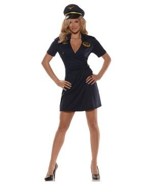 Mile High Mistress Womens Pilot Costume