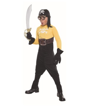 Minions Movie Pirate Minion Boys Costume