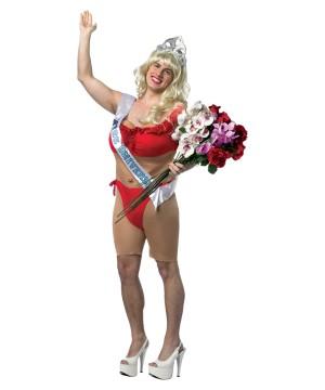 Miss Universe Mens Red Bikini Costume