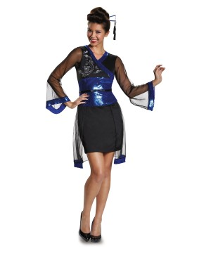 Modern Geisha Womens Costume Dress