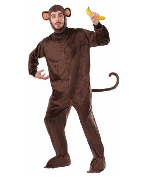 Monkey Brown Mascot Costume