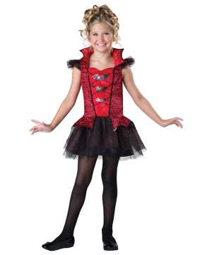 Moonlight Pizazz Vampiress Girls Costume