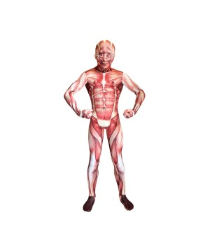Muscle Morphsuit Boys Costume