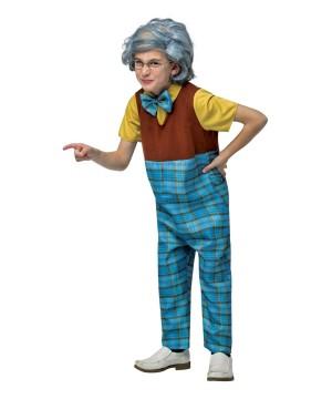 Old Geezer Grandpa Boys Costume