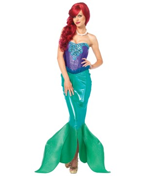 Out of Water Mermaid Womens Costume