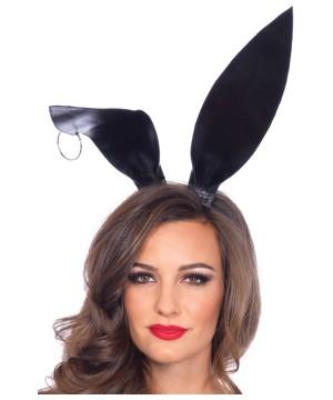 Oversized Black Bunny Ears