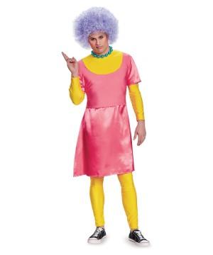The Simpsons Patty Bouvier Men Costume