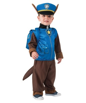 Paw Patrol Chase Toddler Boys Costume