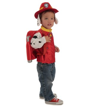 Paw Patrol Marshall Character Toddler Boys Costume