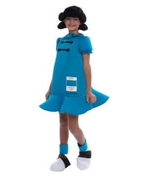 Peanuts Lucy Girls Costume deluxe