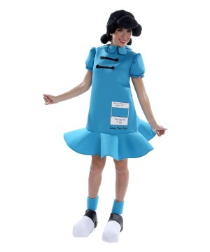 Peanuts Lucy Womens Costume deluxe