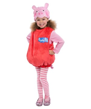 Peppa Pig Toddler Girls Costume deluxe