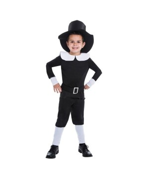Pilgrim Boys Costume