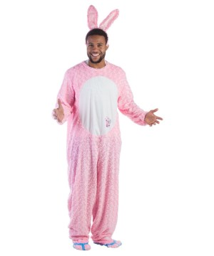 Pink Energizer Battery Bunny Mens Costume