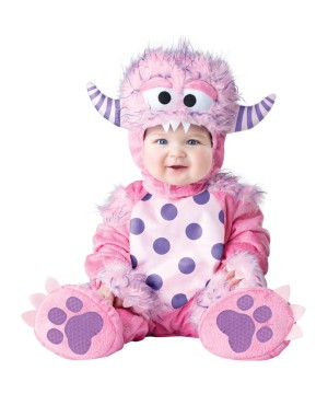 Pink Lil Monster Baby Costume