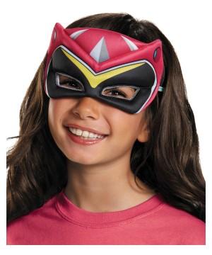 Pink Power Ranger Dino Charge big Girls Puffy Mask