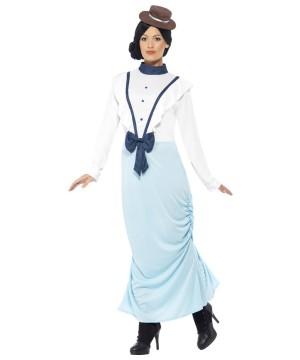Posh Victorian Lady plus size Costume