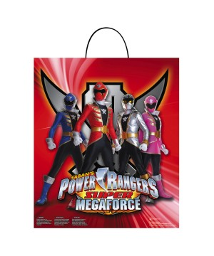 Power Ranger Super Megaforce Essential Treat Bags - Count 8