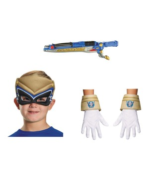 Power Rangers Puffy Mask Gloves and Weapon Kit