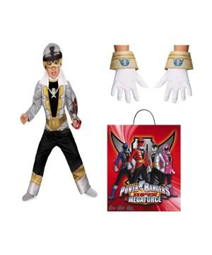 Power Rangers Silver Ranger Boys Costume Set