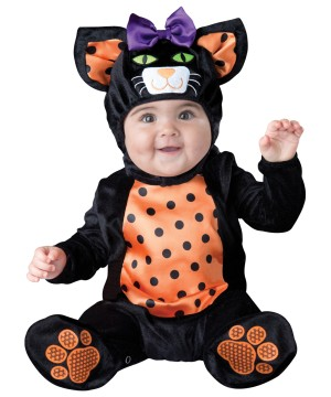Pretty Kitty Meow Baby Girl Animal Costume
