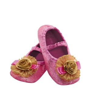 Princess Aurora Toddler Slippers