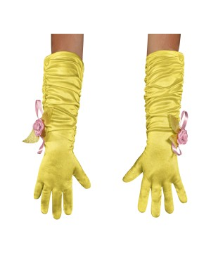 Princess Belle Toddler Gloves