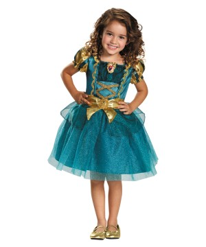 Princess Merida Classic Girls Disney Dress Costume