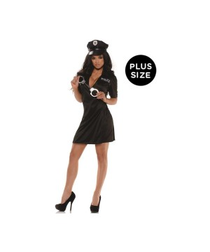 Pull Me Over Police Women plus size Costume