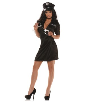 Pull Me Over Police Womens Costume