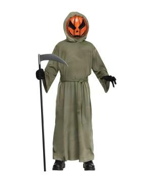 Pumpkin Ghoul Boys Costume