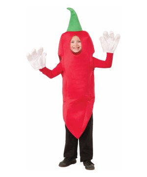 Red Chili Hot Pepper Boys Costume