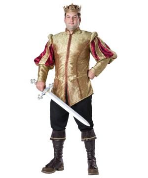 Renaissance Elegance Mens plus size Prince Costume