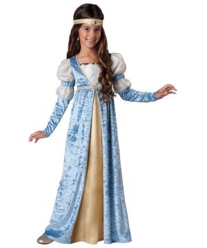 Renaissance Princess Maiden Girls Costume