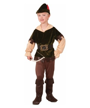Robin Hood Archer Boys Costume