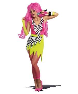 Rock Star Pop Princess Womens Costume
