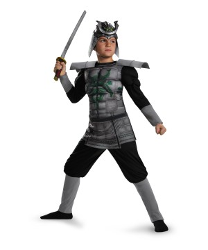 Samurai Knight Muscle Chest Boys Costume