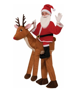 Santa Ride a Reindeer Boys Costume
