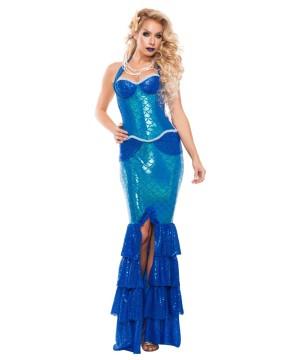 Sapphire Mermaid Womens Costume Prestige