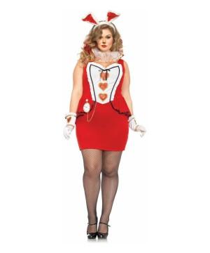 Sassy Tea Time Bunny plus size Ladies Costume
