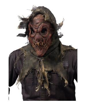 Red Scarecrow Adult Mask