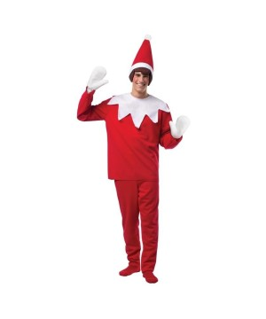 Christmas Scout Elf Costume With No Gloves