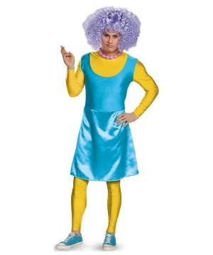 Selma Bouvier Simpsons Men Costume