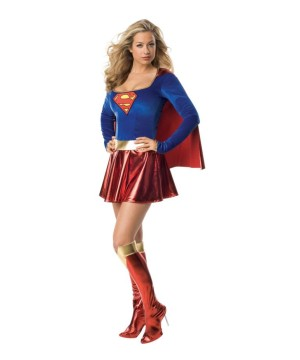 Sexy Super Girl Ladies Costume