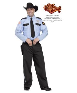 Sheriff Roscoe P Coltrane Mens Dukes of Hazzard Costume