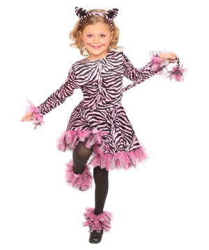 Shreddy Tiger Girls Costume deluxe